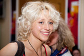 Russian actress Daria Volga — Stock Photo