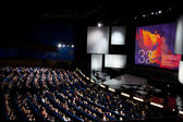 Opening Of 32st Moscow International Film Festival — Stock Photo