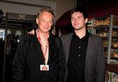 Director Ken McMullen and actor Sam McMullen — Stock Photo