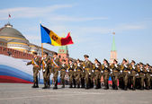 Moldova troops — Stock Photo