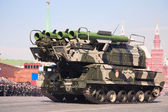 """Buk M2"" missile system — Stock Photo"