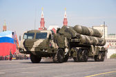 Anti-aircraft missile system S-400 — Stock Photo