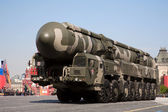 "Mobile missile system ""Topol-M"" — Stock Photo"