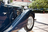 Retro Car on Vintage Car Parade — Stock Photo