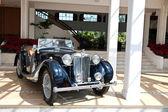 MG TB on Vintage Car Parade — Stock Photo