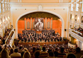 'oncert in memory of Oleg Jankowski — Stock Photo