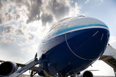 NEW BOEING 787 — Stock Photo