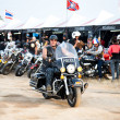 Stock Photo: Bikers at bike show