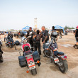 Bikers at the bike show - Stok fotoraf