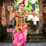 Постер, плакат: Barong Dancer Bali Indonesia