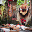 Barong - a character in the mythology of Bali, Indonesia — 图库照片