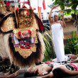 Barong - a character in the mythology of Bali, Indonesia — Stock fotografie