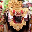 Barong: a character in the mythology of Bali, Indonesia — Stock Photo
