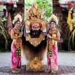 Barong dancers Bali Indonesia — Stock Photo