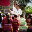 Kuningan Festival in Bali - Stock Photo