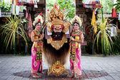 Barong dancers Bali Indonesia — Stock Photo