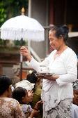 Kuningan Festival in Bali — Stock Photo