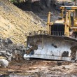Stock Photo: Bulldozer machine