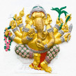 Hindu ganesha God — Stock Photo #10267726