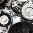 Close up of car engine — Stock Photo #7965288