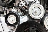 Close up of car engine — Stock Photo