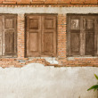 Stok fotoğraf: Old wooden window