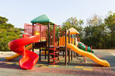 Children playground in park — Stock Photo