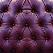 Stock Photo: Dark red upholstery leather