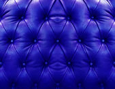 Dark blue upholstery leather — Stock Photo