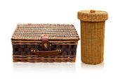 Basket rattan — Stock Photo
