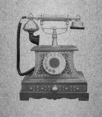 Telephone retro — Stock Photo