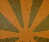 Rayons de soleil abstrait vintage — Photo