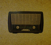 Radio retro — Photo