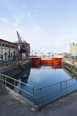Dry dock — Stock Photo