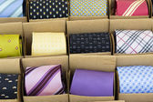 Color ties — Stock Photo