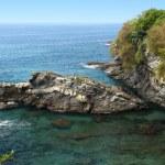 Italian Riviera coast — Stock Photo