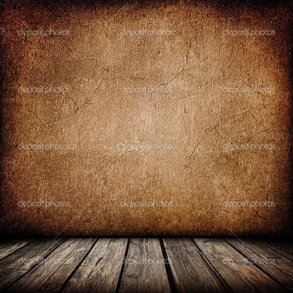 Grunge Wood Background Grunge Paper Wall With Wood