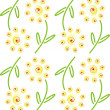 Stock Photo: Pattern of flowers