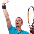 Stock Photo: Tenniswinner
