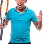 Tennisangry — Stock Photo #8087723