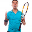 Tennisangry1 — Stock Photo