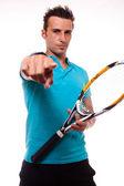 Tennisinvite — Stock Photo
