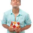 Stock Photo: Love gift