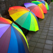 Umbrella bali — Stock Photo