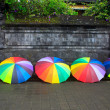 Umbrella besakih — Stock Photo