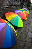 Ombrello bali — Foto Stock