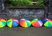 Umbrella besakih — Stock Photo