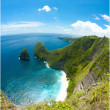 Nusa penida cliff — Stock Photo