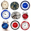 Set of clocks — Foto de Stock