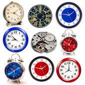 Set of clocks — Stock Photo